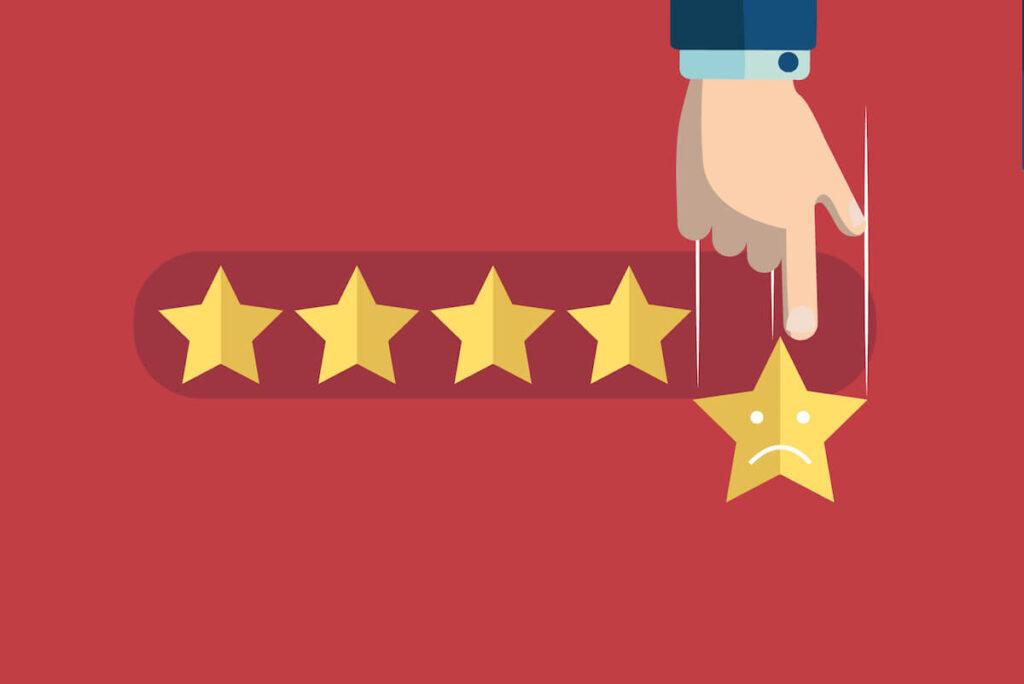 cum sa raspunzi la recenzii negative